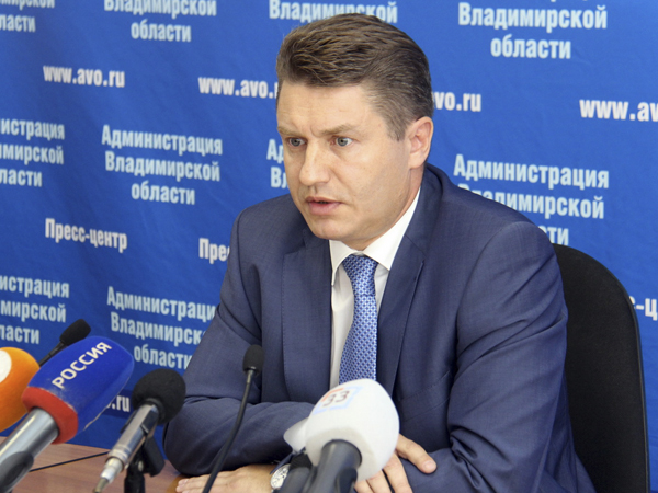 Генеральный директор ОАО «Корпорация развития Владимирской области» Сергей Бородин.
