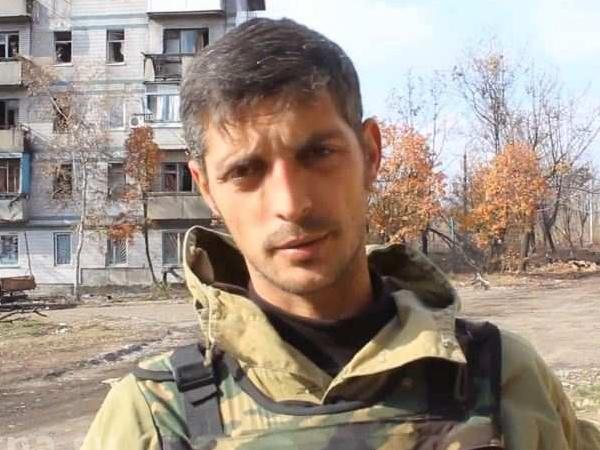 Командир батальона «Сомали» армии ДНР Михаил Толстых с позывным Гиви.