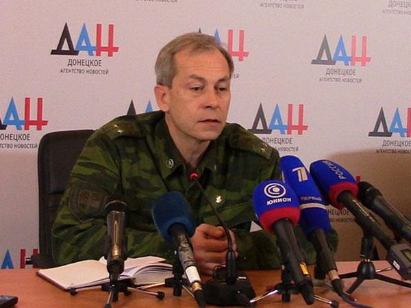 Заместитель командующего корпусом Министерства обороны ДНР Эдуард Басурин.