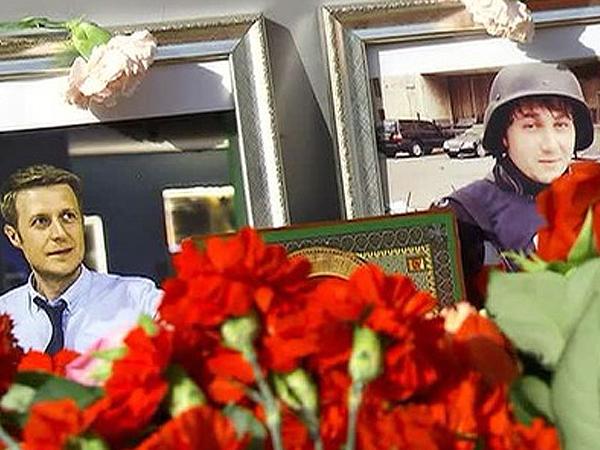 В ЛНР открыли мемориальный знак на месте гибели журналистов ВГТРК