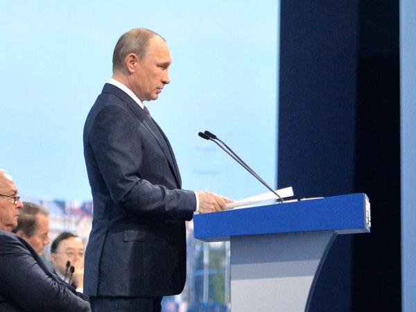 Путин: Россияне и украинцы – один народ