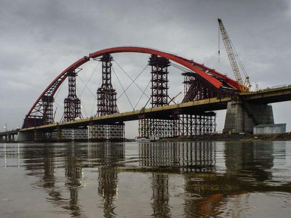 Бугринский мост в Новосибирске представлен на госпремию