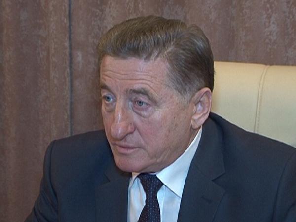 Сенатор от Воронежской областной Думы Сергей Лукин.