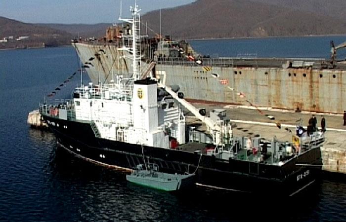 катер «БГК-2152» - новое гидрографическое судно.