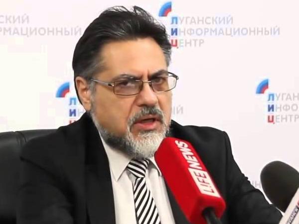 Полномочный представитель ЛНР на переговорах в Минске Владислав Дейнего.