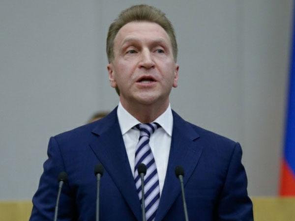 Первый вице-премьер правительства РФ Игорь Шувалов.