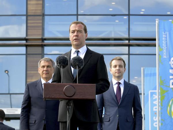 Иннополис— хороший пример государственно-частного партнёрства: Медведев