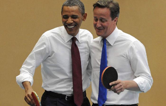Барак Обама — президент США и британский премьер Дэвид Кэмерон