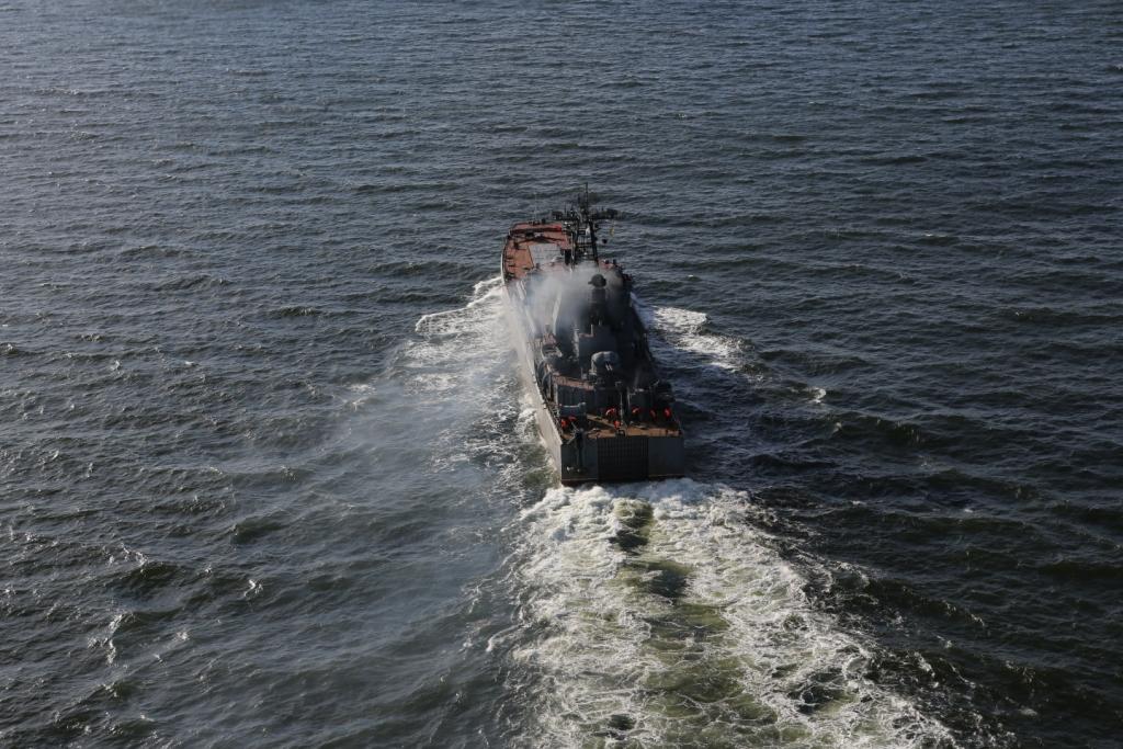 Группа антитеррора из Калининграда прибыла в Средиземноморье
