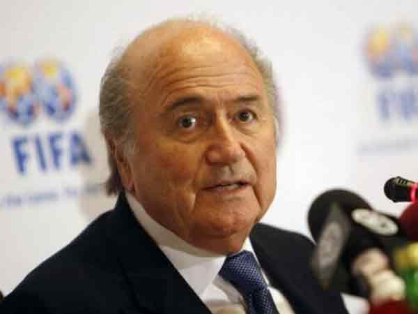 Йозеф Блаттер - президент ФИФА.