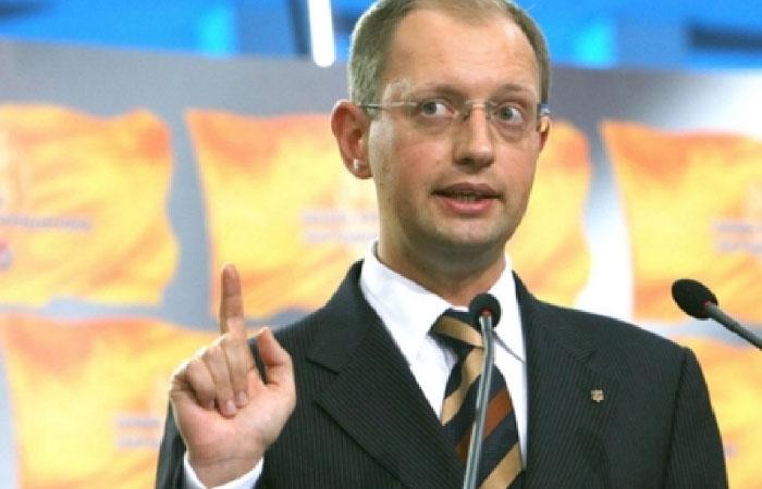 Арсений Яценюк - премьер-министр Украины.
