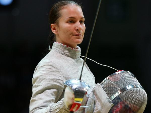 Российская саблистка Софья Великая.