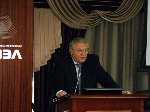 Старший вице-президент АО «ТВЭЛ» Алексей Григорьев.
