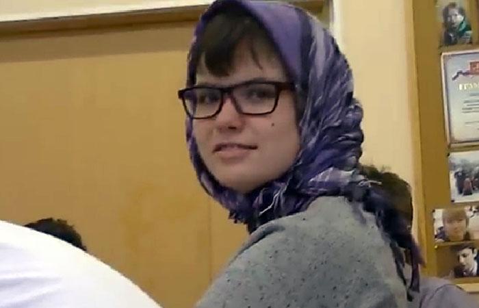 Варвара Караулова - студентка МГУ.