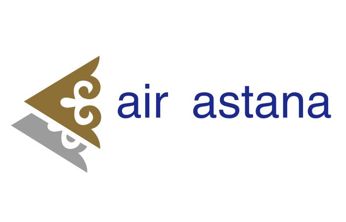 Логотип авиаперевозчика Республики Казахстан «Эйр Астана».