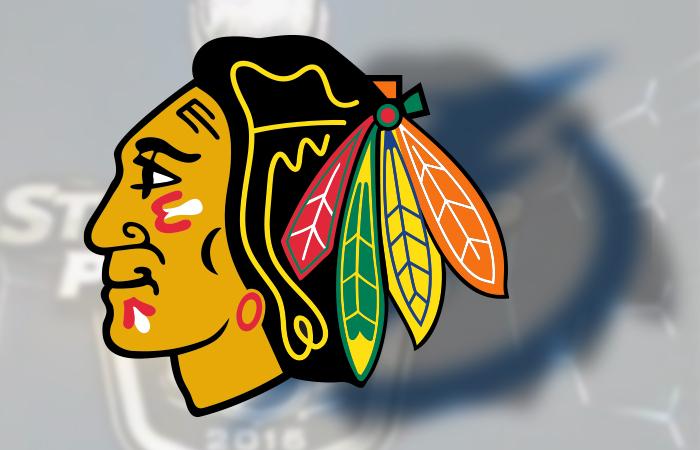 Эмблема ХК «Чикаго Блэкхокс».