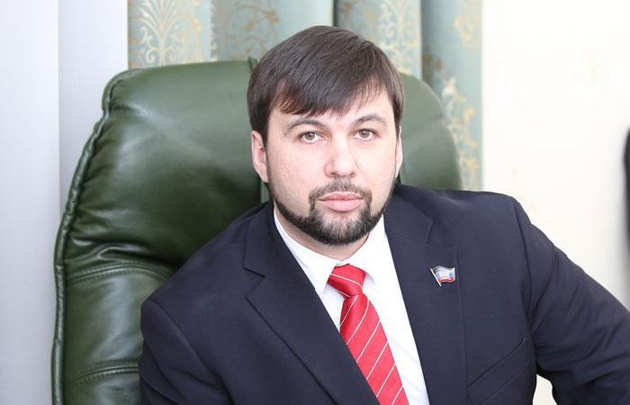 Денис Пушилин - вице-спикер Народного совета ДНР.