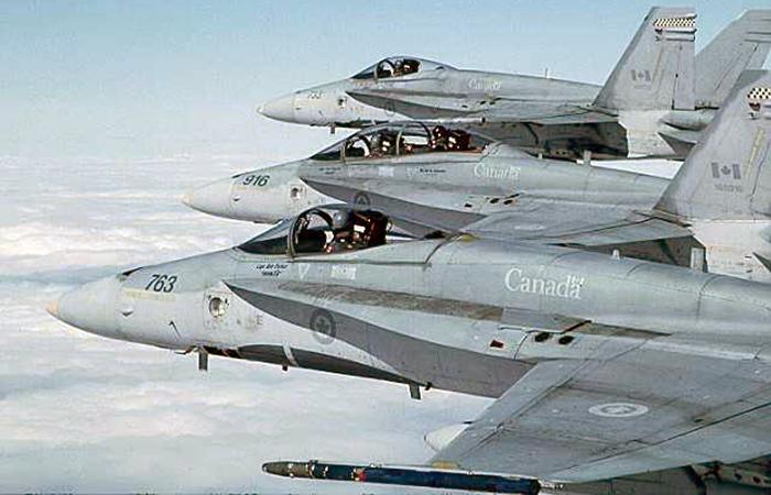 Канада нанесла авиаудары по позициям «Исламского государства» в Ираке