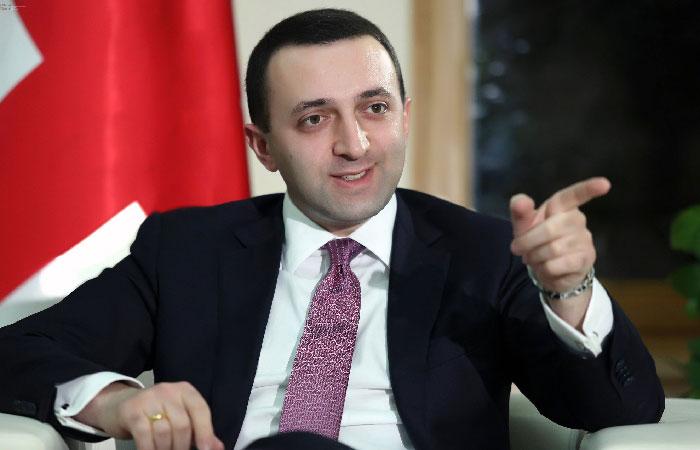 Ираклий Гарибашвили - премьер-министр Грузии.