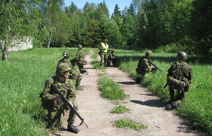 Финансирование ополчения Эстонии выросло за пять лет в полтора раза
