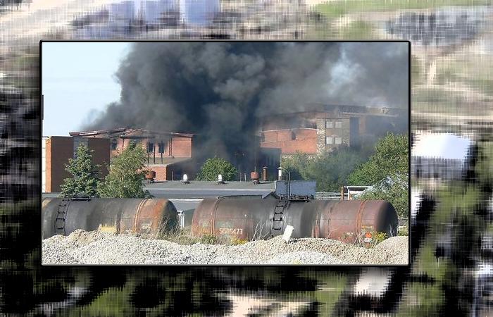Повторный пожар на американском предприятии Эстонии локализован