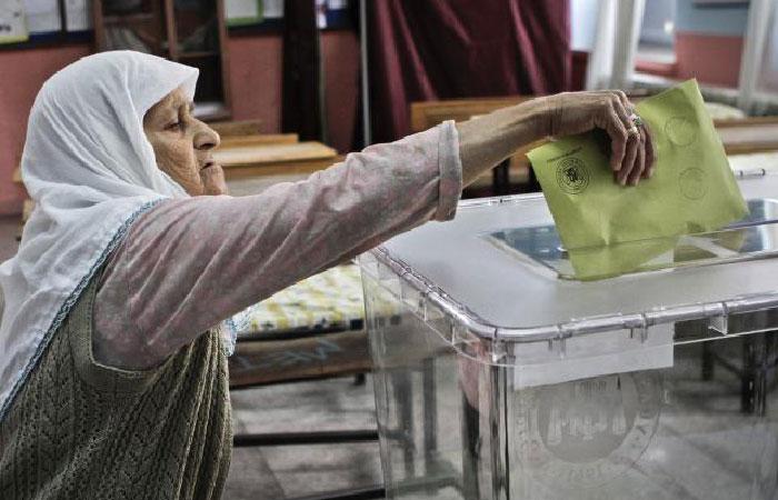 Выборы в Турции.