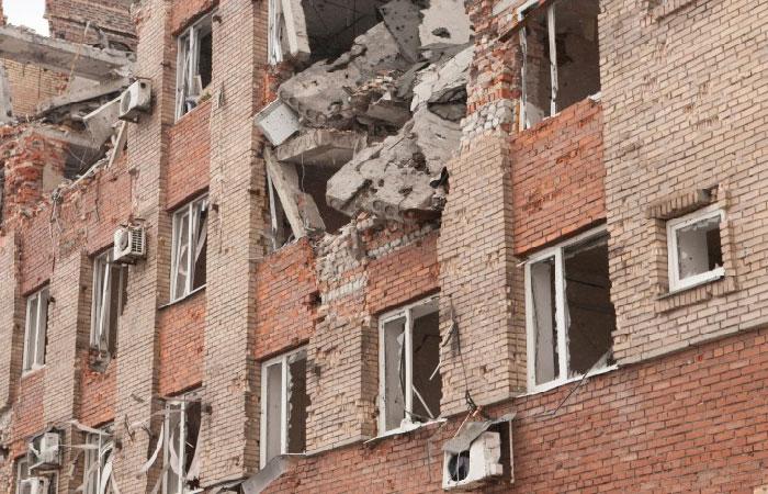 Донецк под обстрелом. .