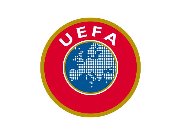 Эмблема Союза европейских футбольных ассоциаций (УЕФА).