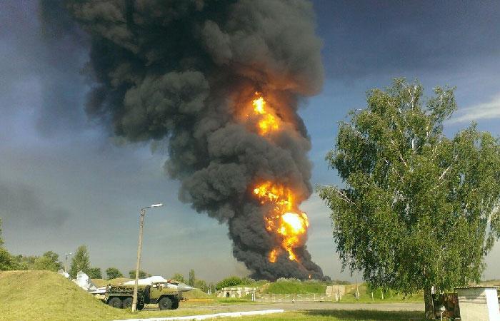 Содержание вредных веществ в воздухе Киева превысило норму почти в 7 раз