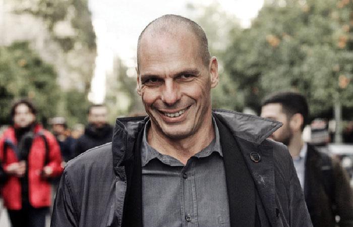 Янис Варуфакис - министр финансов .