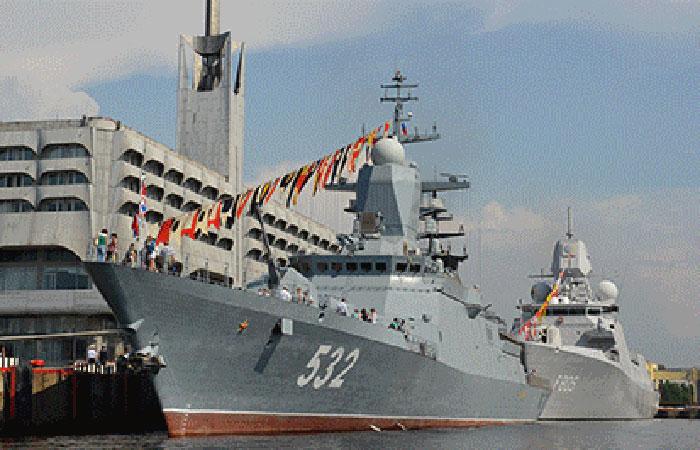 На военно-морской салон в Петербурге ожидают 30 зарубежных делегаций