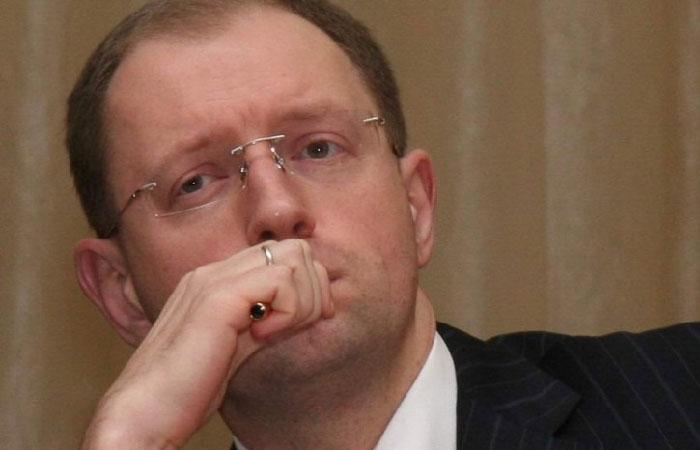 Арсений Яценюк - премьер-министр Украины