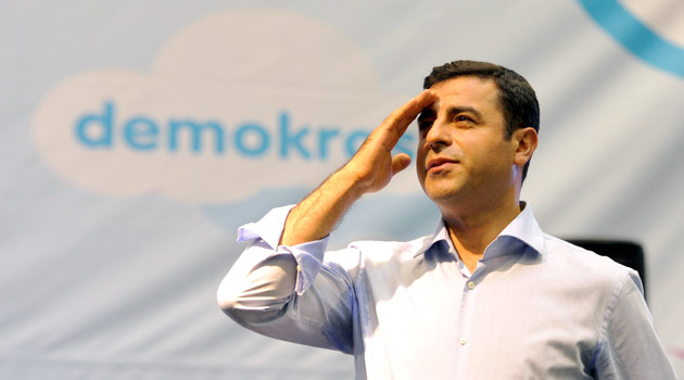 Глава НДП Селахаттин Демирташ. Фото: mk-turkey.ru