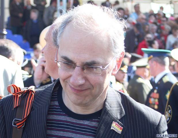 Калининградский политолог, историк Соломон Гинзбург.