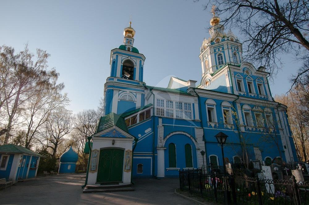 Никольско-Архангельский храм. Фото mosculture.ru
