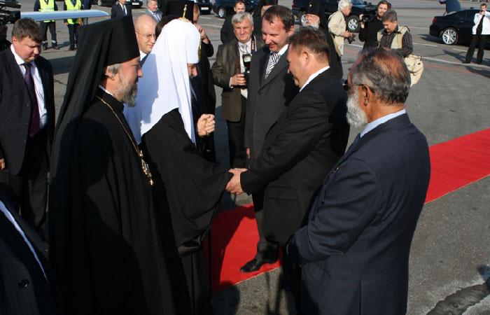 Патриарх Кирилл прибыл в Архангельск