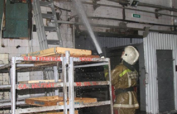 Пожар на  хлебокомбинате Камчатка.
