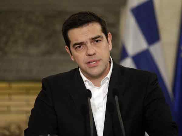 Алексис Ципрас - премьер-министр Греции.
