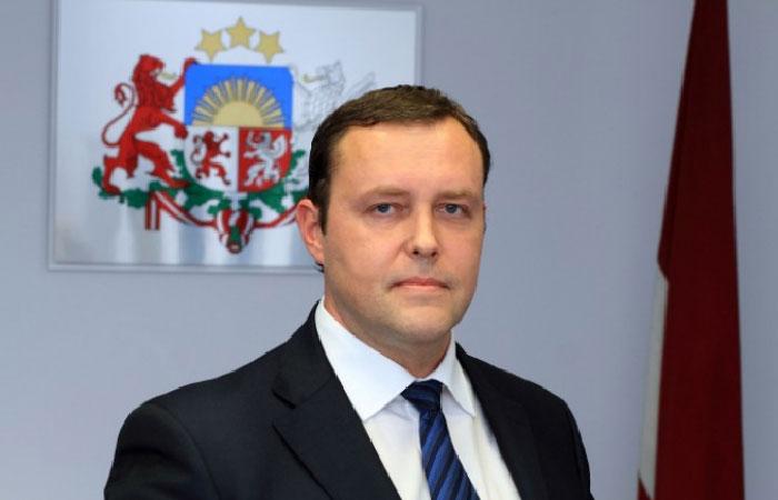 Рихард Козловскис - министр внутренних дел Латвии. Рихард Козловскис