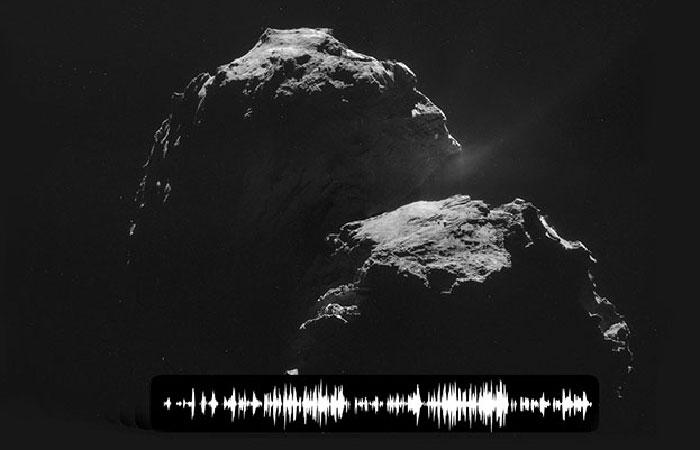 С кометы 67Р/Чурюмова-Герасименко принят сигнал.