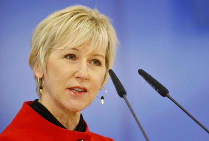 Маргот Вальстрём - глава МИД Швеции.
