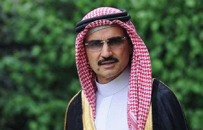 Принц Саудовской Аравии Аль-Валид бин Талал бин Абдулазиз Аль Сауд.