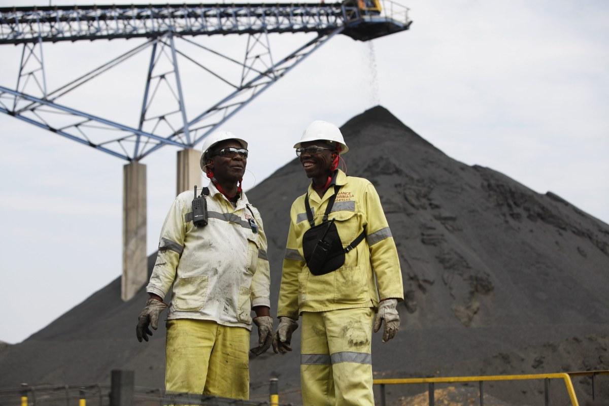 Уголь из ЮАР.
