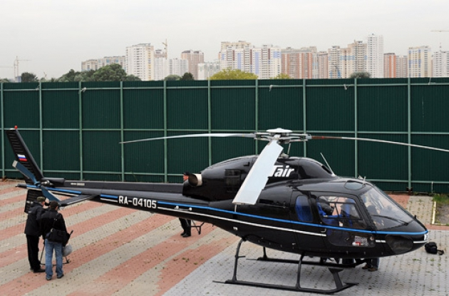 Вертолётное такси.
