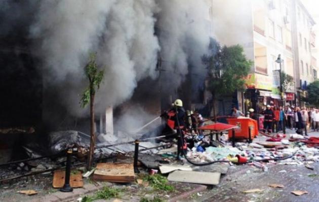 Взрыв в Турции.