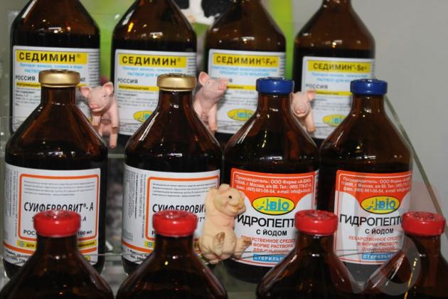 Кормовые добавки и ветеринарные препараты.