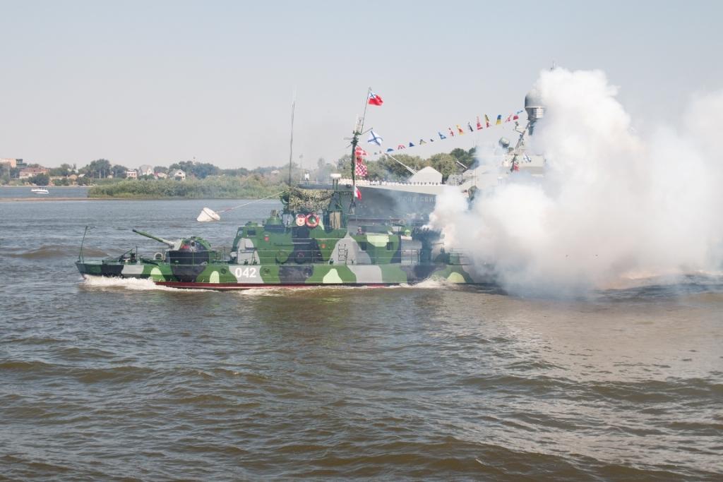 Празднование Дня ВМФ в Астрахани фото: astrobl.ru