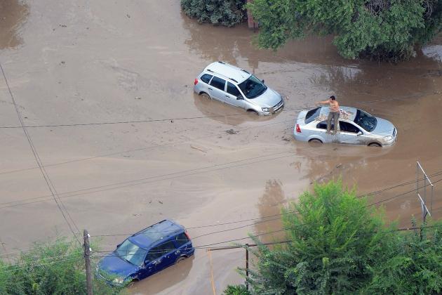 900 человек эвакуированы из зоны схода селя в Алма-Ате в Казахстане