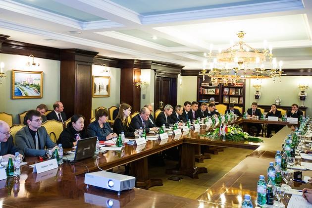 Делегация «Газпрома» на переговорах с китайской CNPC. Фото: gazprom.ru