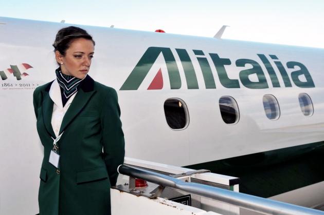 Компания Alitalia объявила о 24-часовой забастовке